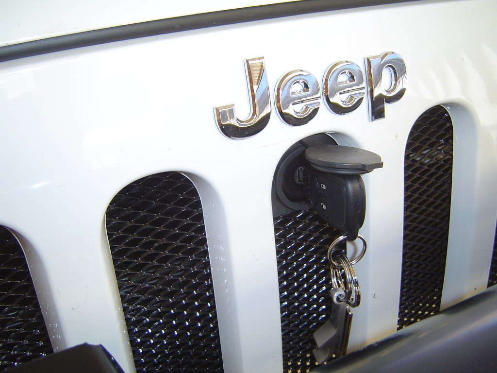 Jeep JK Bonnet Lock
