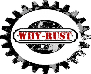 Why-Rust logo red
